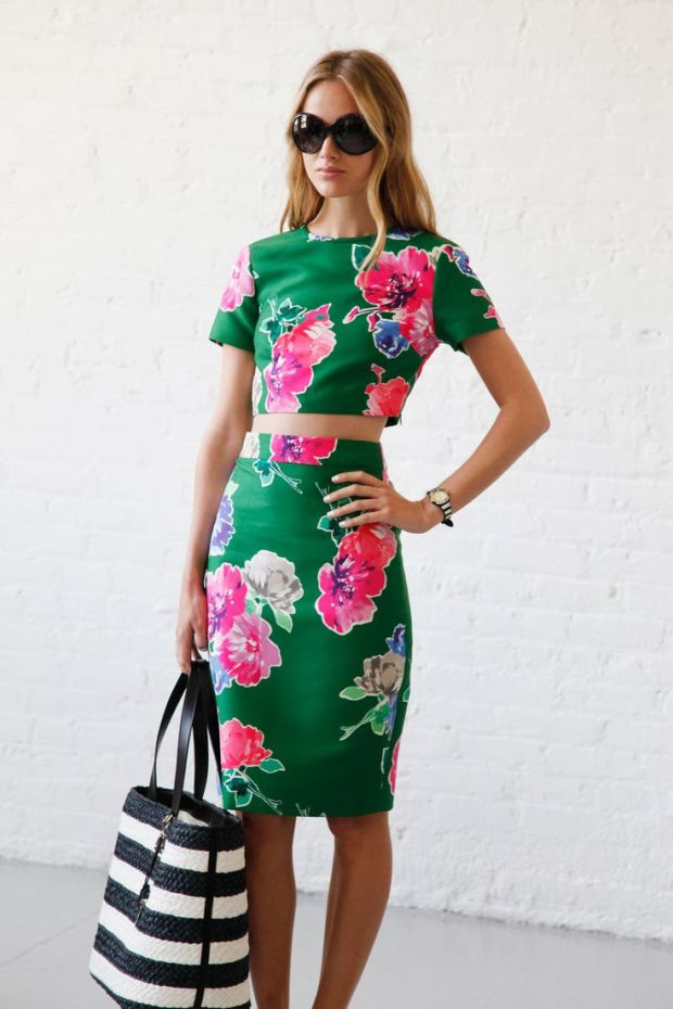 Florals-Kate Spade Spring 2015