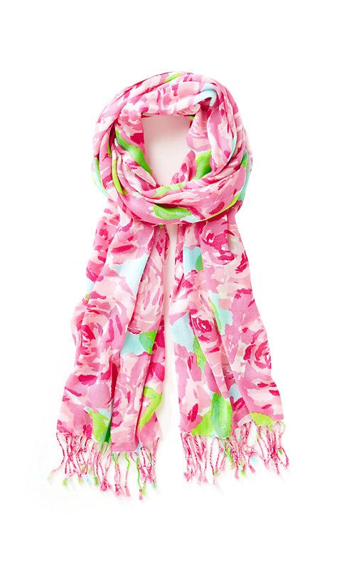 Printed Lily Pulitzer Scarf