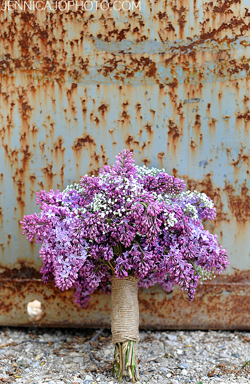Lilac Bouquet-Spring Wedding Flowers