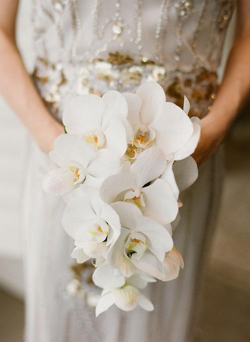 Orchid Bouquet-Spring Wedding Flowers