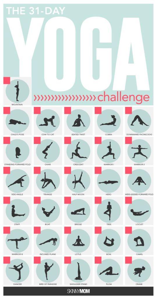 July Yoga Challenge