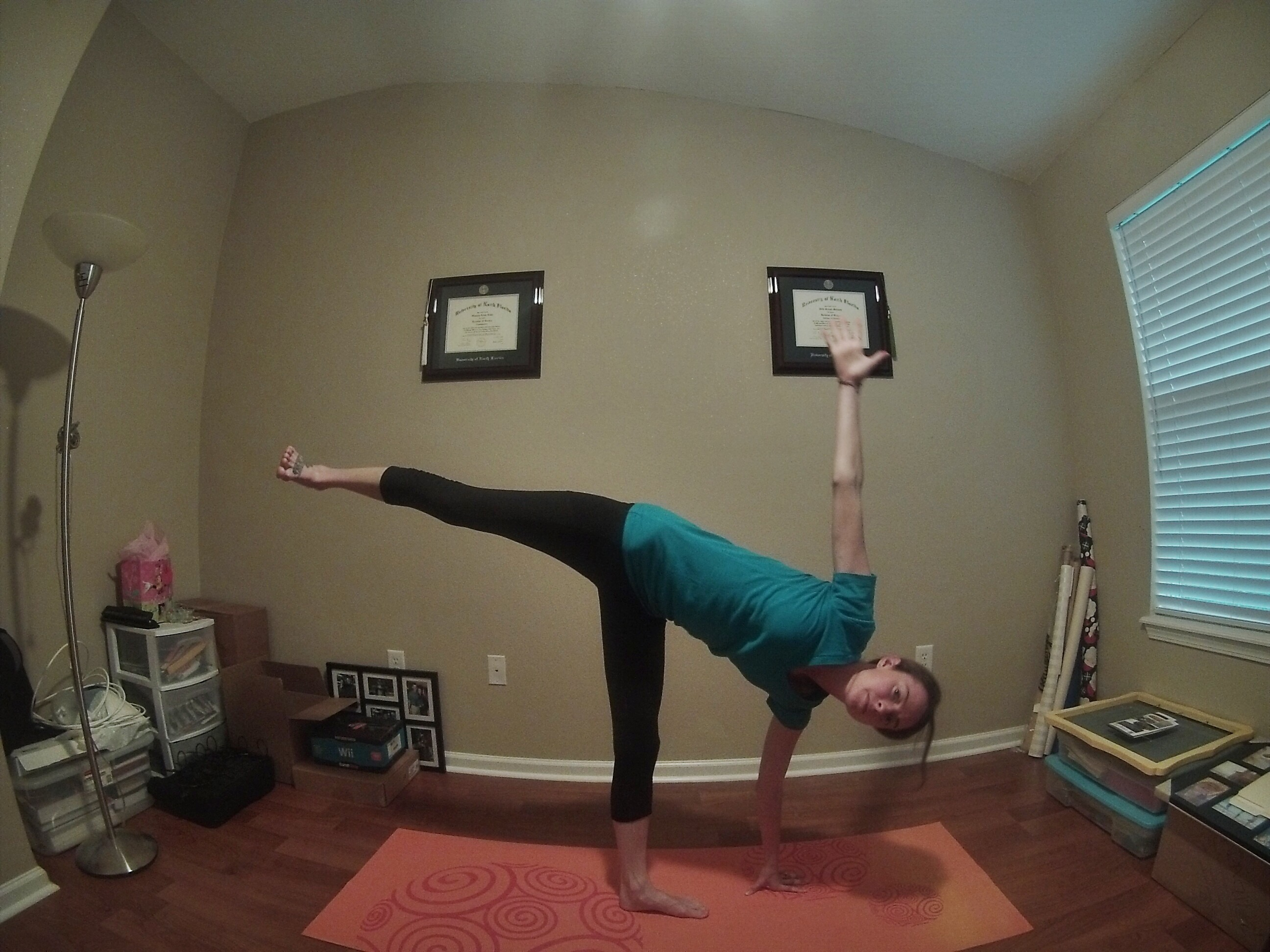 Half Moon Pose - Some Shananagins