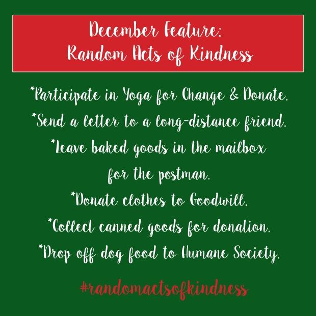 Random Acts of Kindness - Some Shananagins