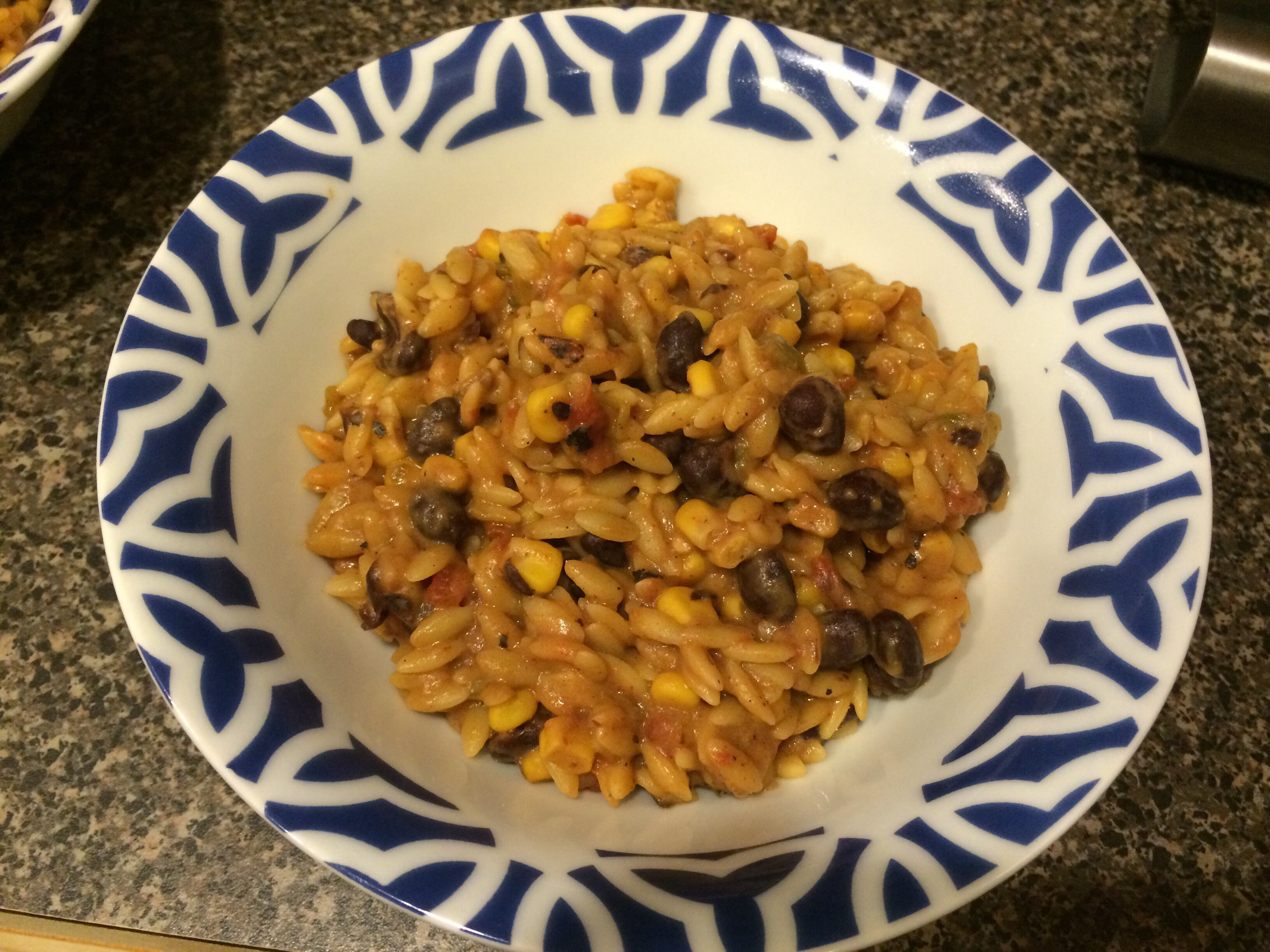 Recipe Review: Slow Cooker Enchilada Orzo - Some Shananagins
